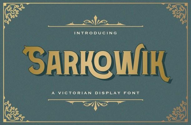 Sarkowik Font