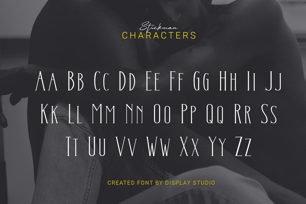 Stickman Font-2
