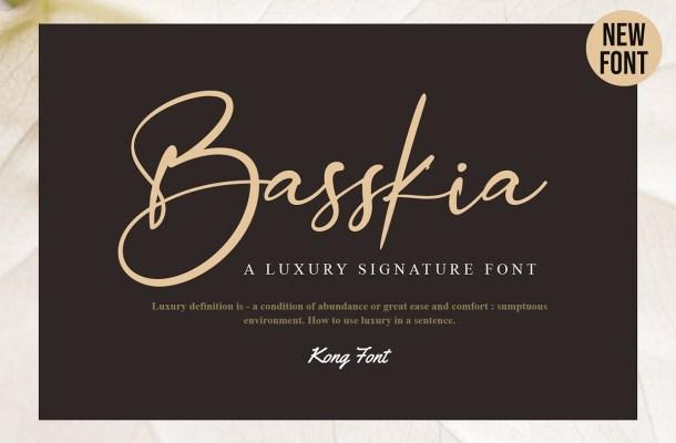 Basskia Font