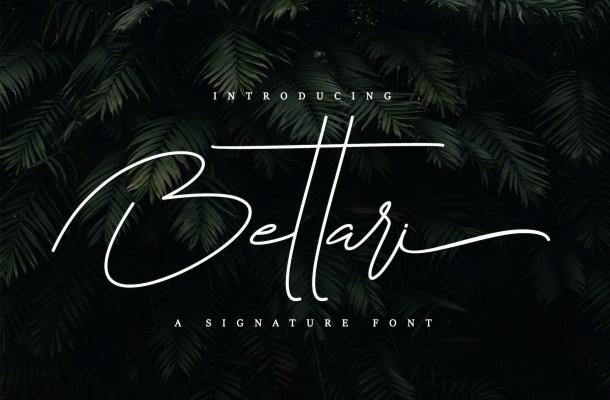 Bettari Font