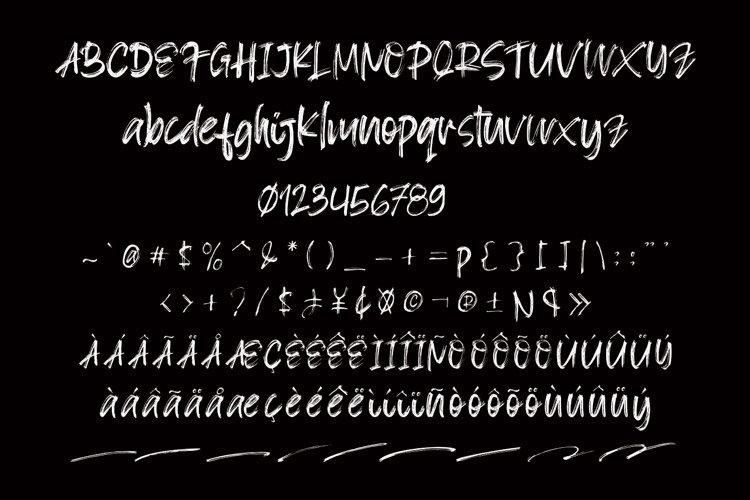Blacksign Font-3