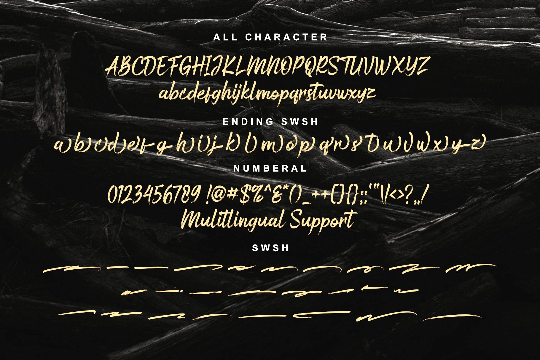 Bustered Font-3