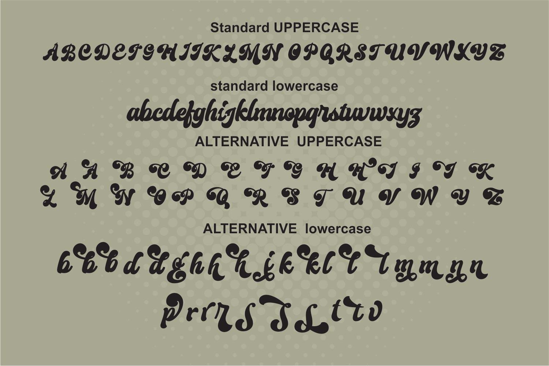 Creamer Font-2