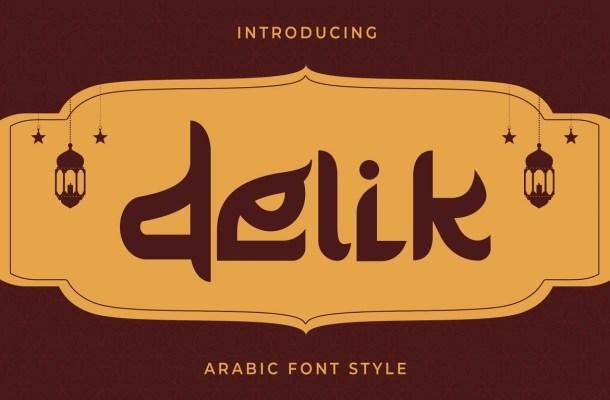 Delik Font