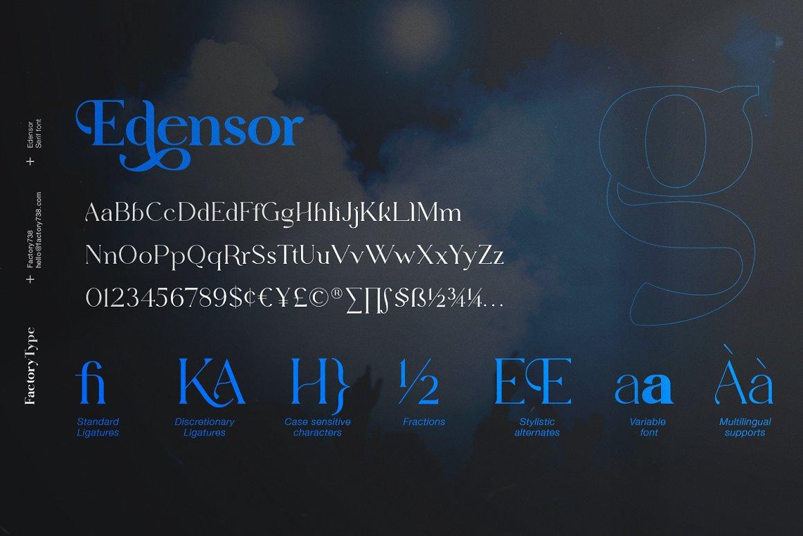 Edensor Font-3