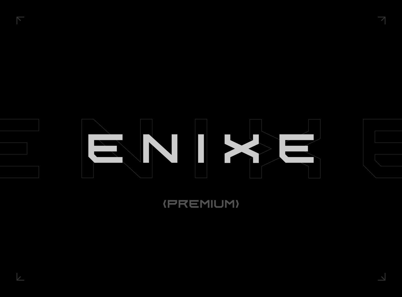 Enixe Font