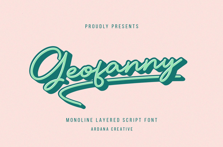 Geofanny Font