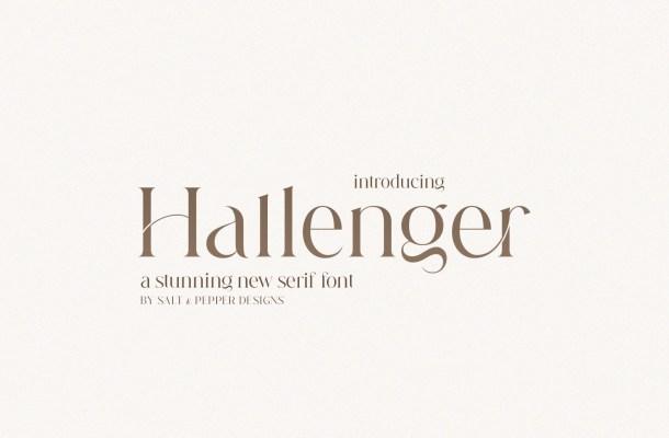 Hallenger Font