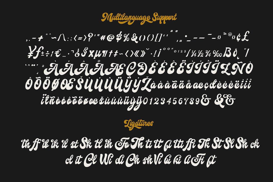 Hallway Font-3