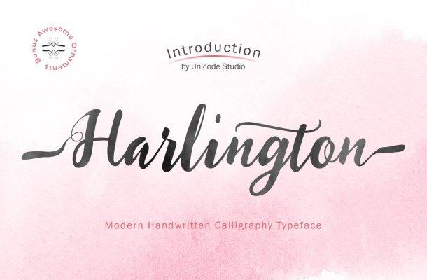 Harlington Font