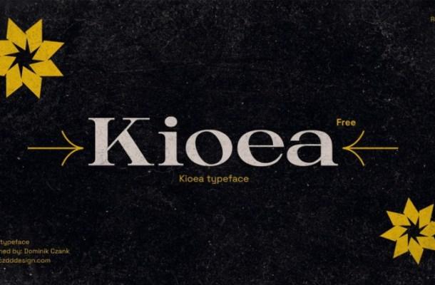 Kioea Font