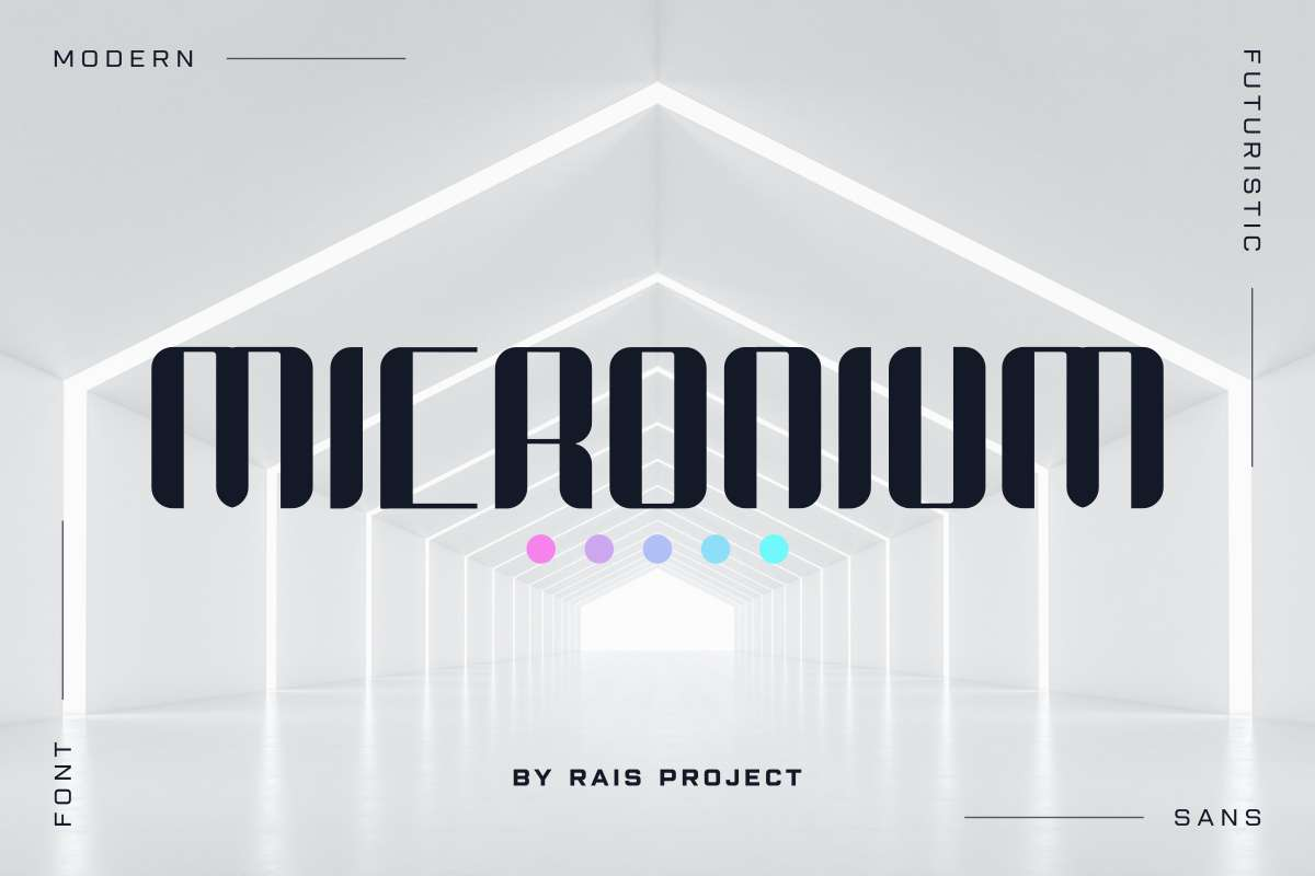 Micronium Font