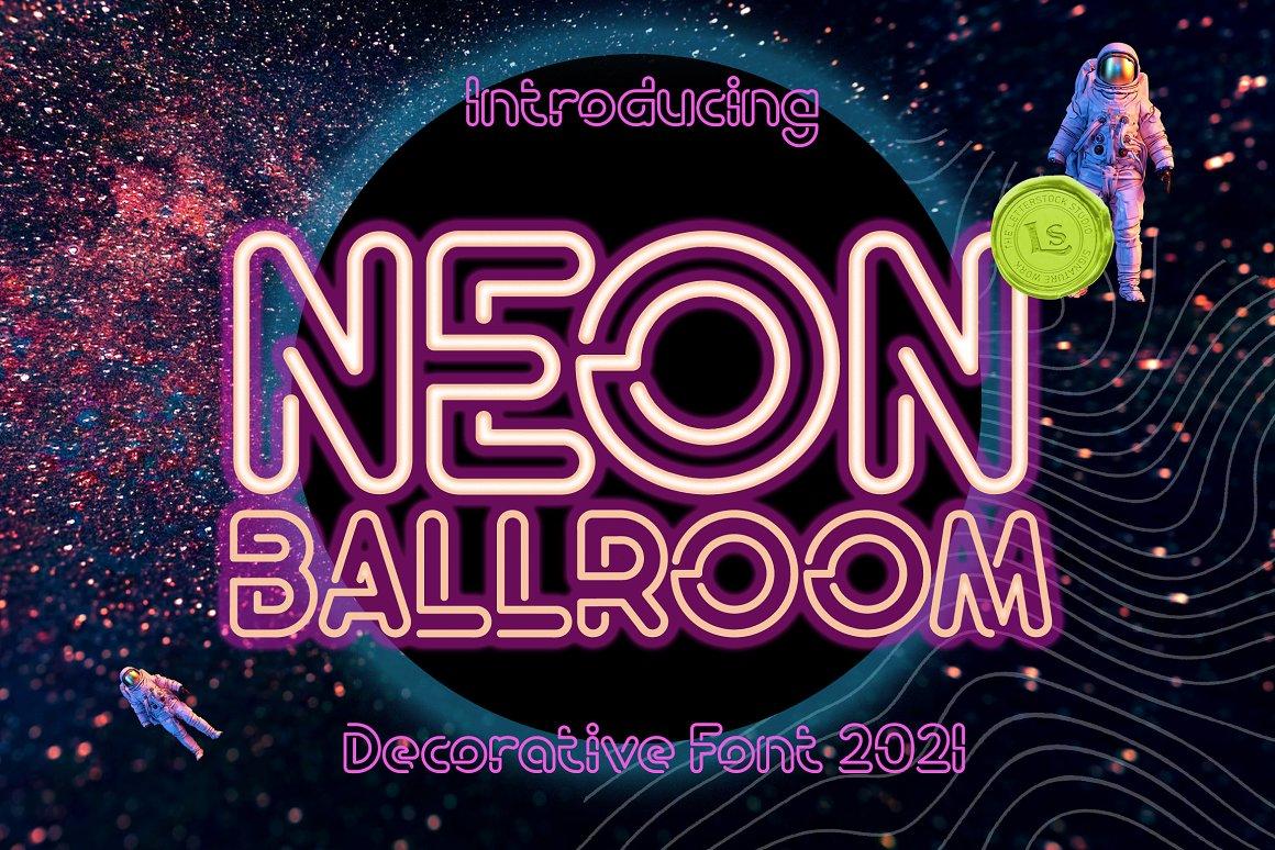 Neon Ballroom Font