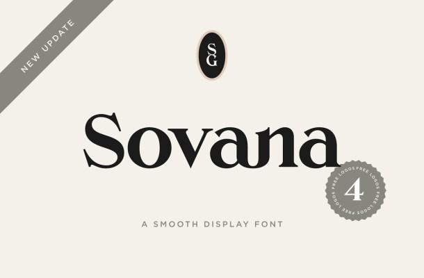 Sovana Font