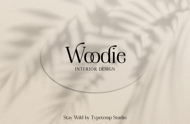 Woodie Font