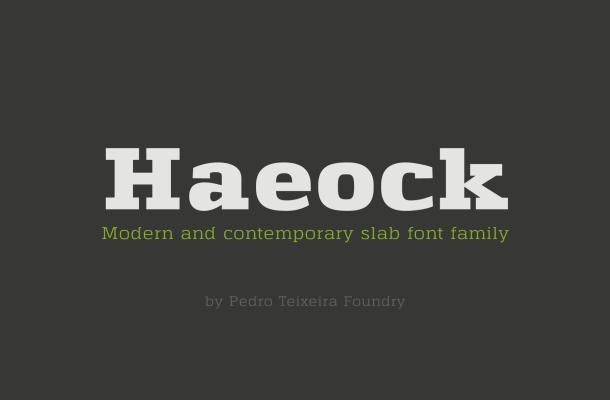 Haeock Font Family