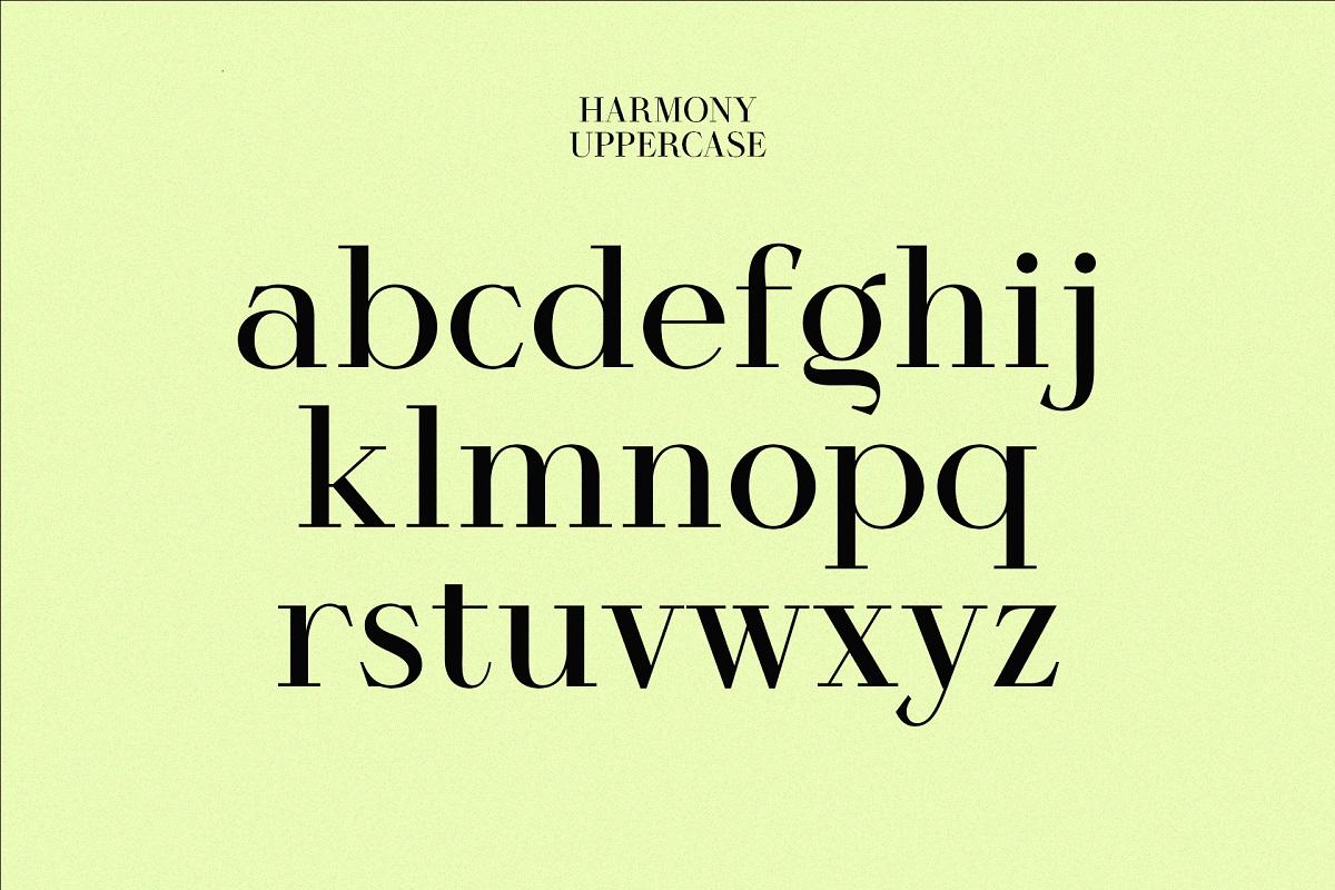 Harmony Font-3