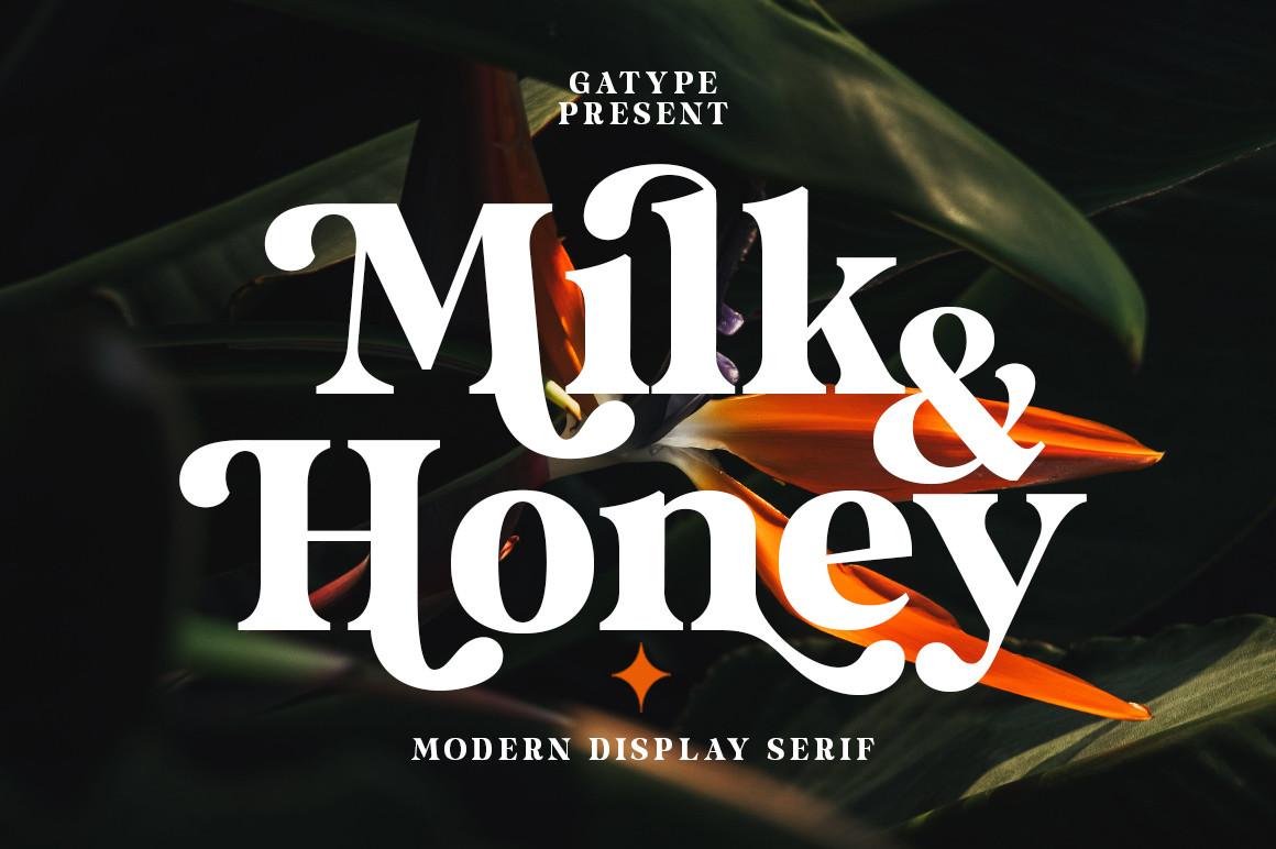 Milk and Honey Font