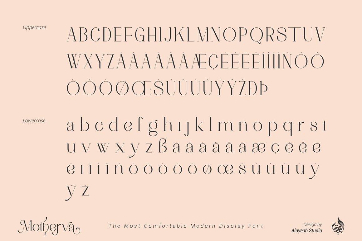 Motherva Font-2
