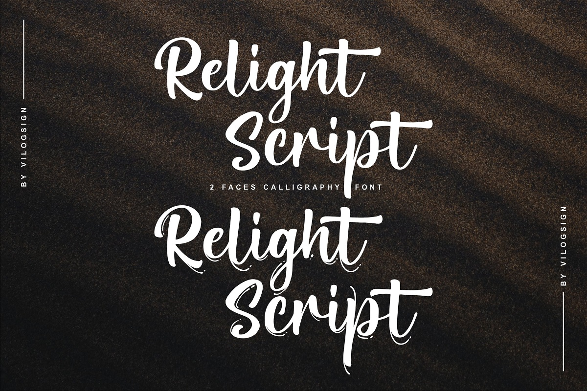 Relight Font