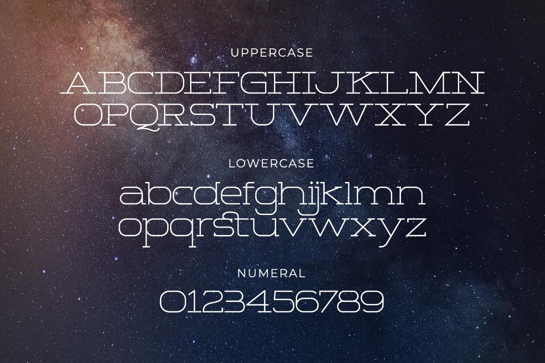 Space Corner Font-2