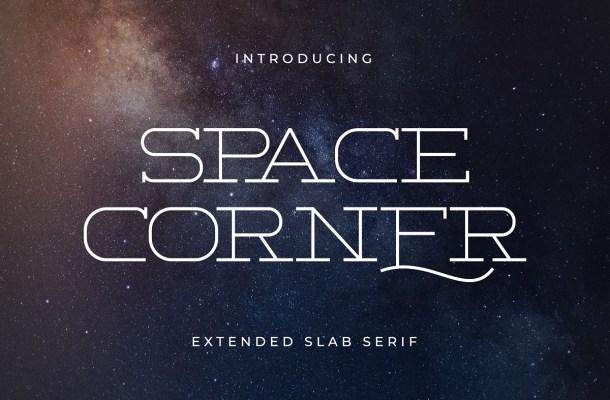 Space Corner Font