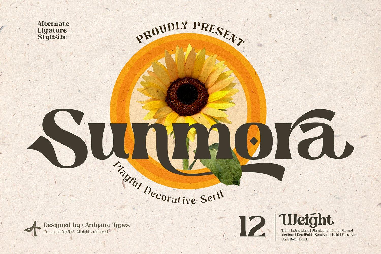Sunmora Font