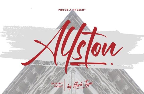 Allston Font