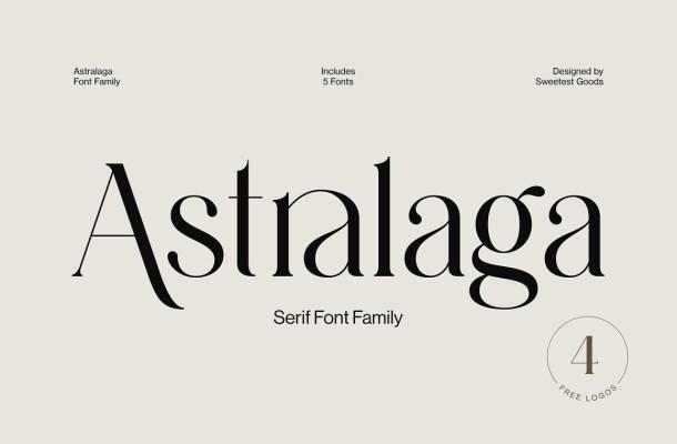 Astralaga Font