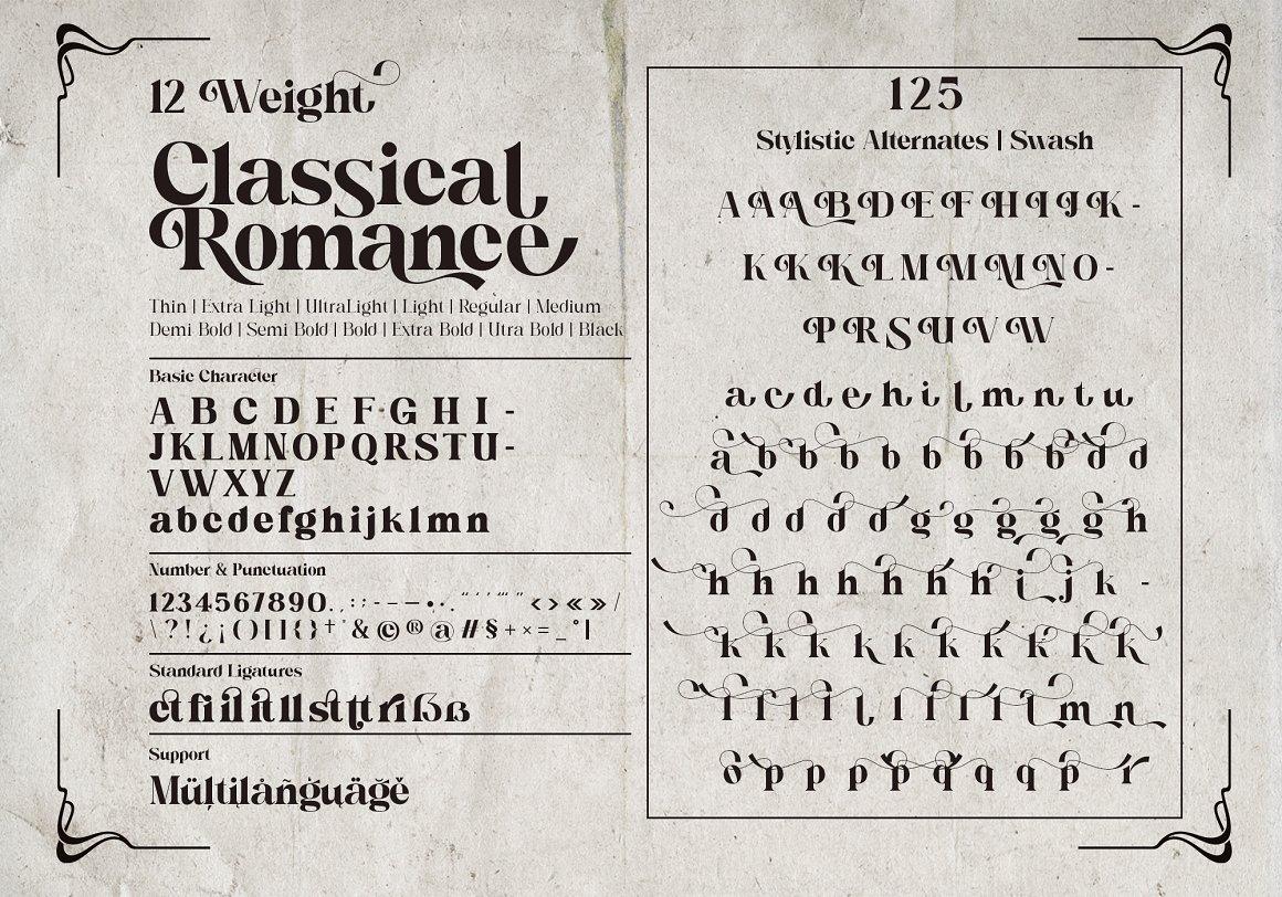 Classical Romance Font-3