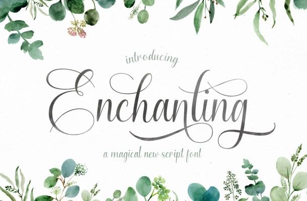 Enchanting Font