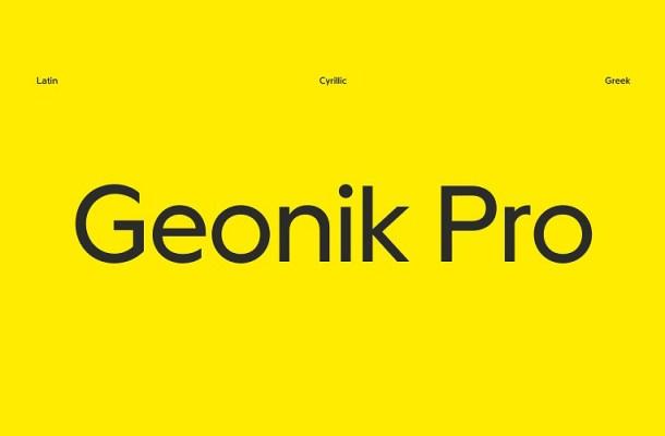 Geonik Pro Font-4