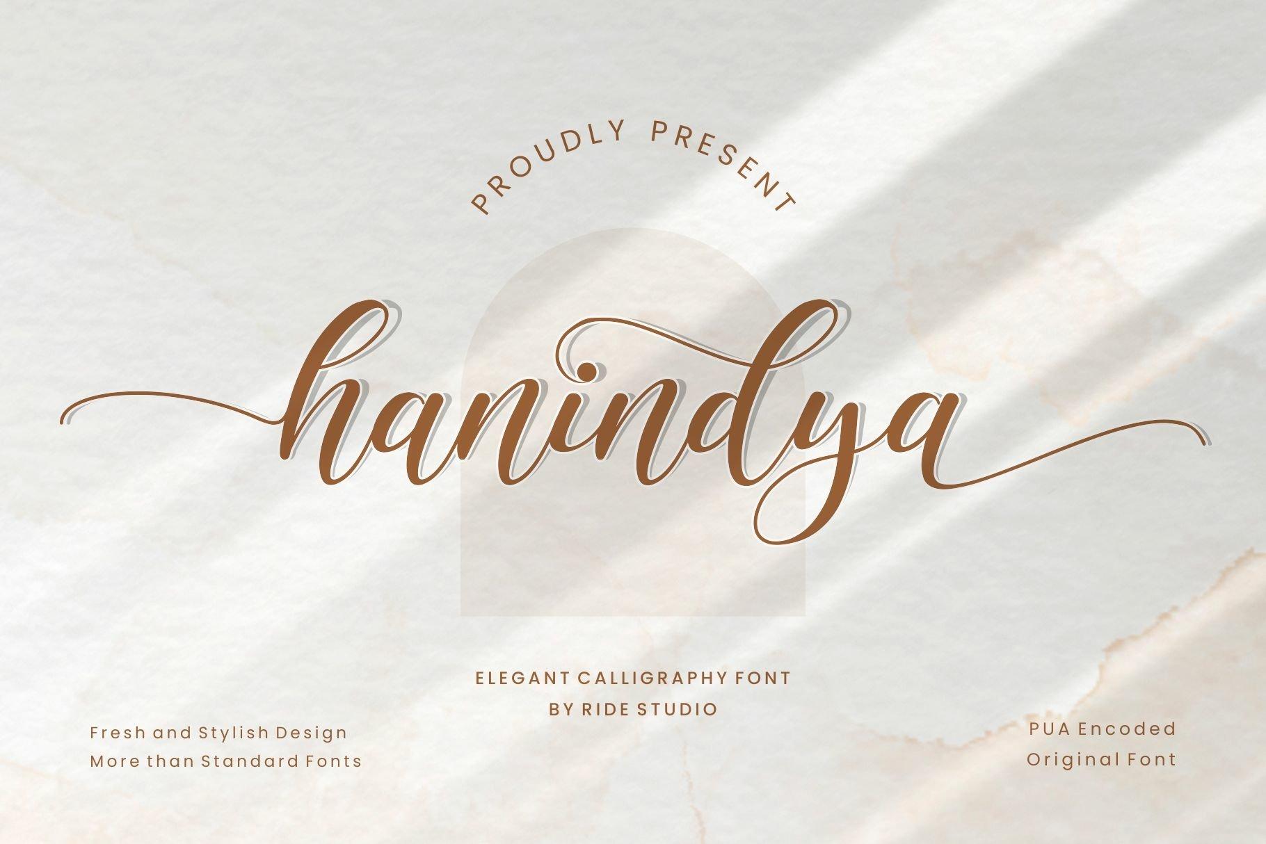 Hanindya Font