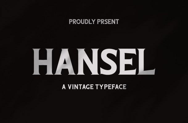 Hansel Font