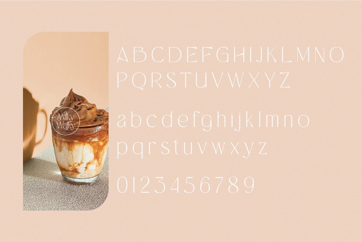 Milky Walky Font-3