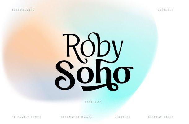 Roby Soho Font