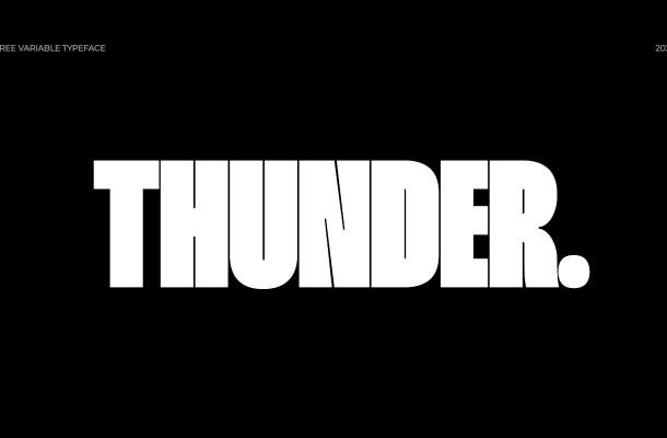 Thunder Font Family