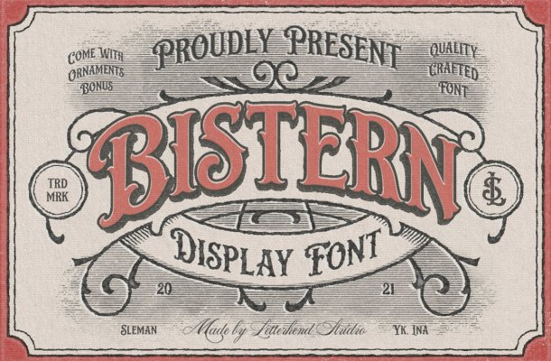 Bistern Font