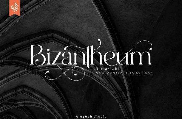 Bizantheum Font