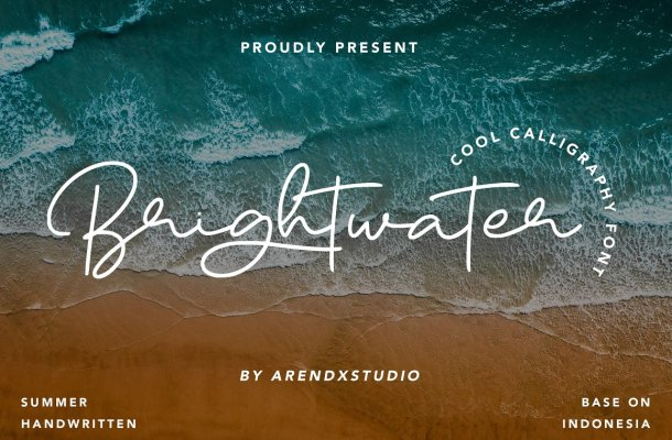 Brightwater Font