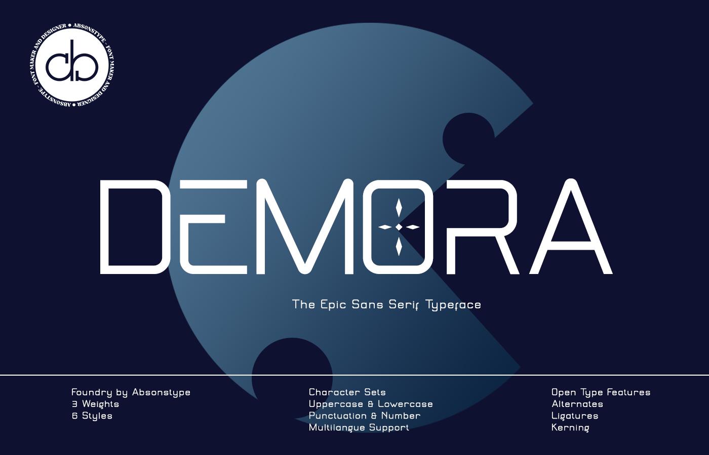 DEMORA Font