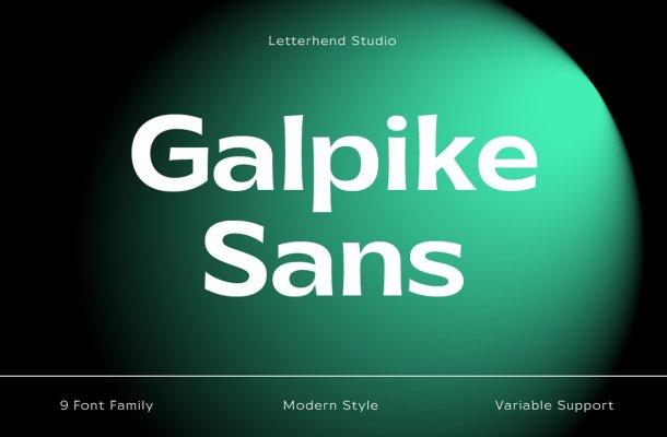Galpike Font