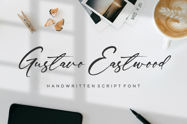 Gustavo Eastwood Font