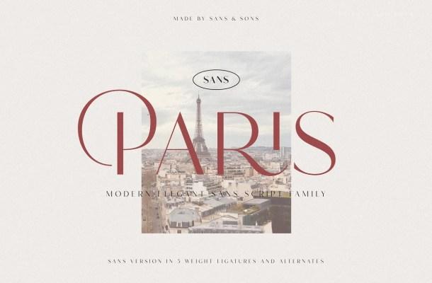 Hello Paris Font