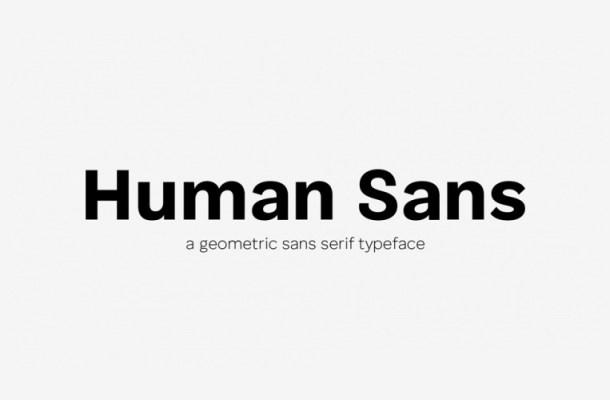 Human Sans Font Family-4