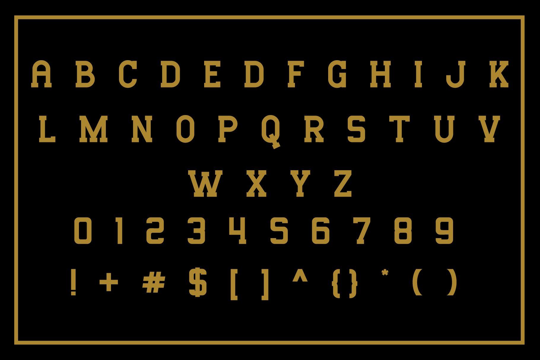 Mousony Font-3