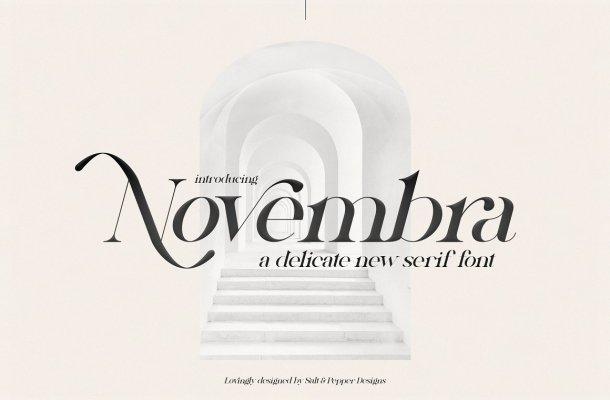 Novembra Font