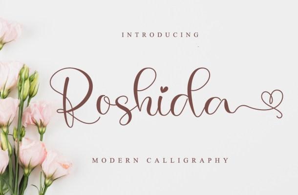 Roshida Font