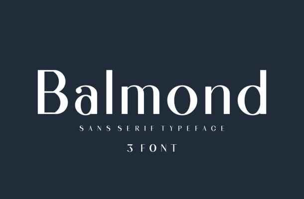 Balmond Sans Font