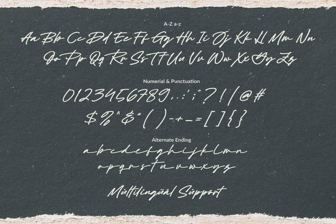 Black Signature Font-3